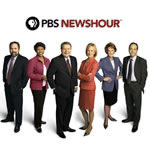 Photo of PBS Newshour Anchors