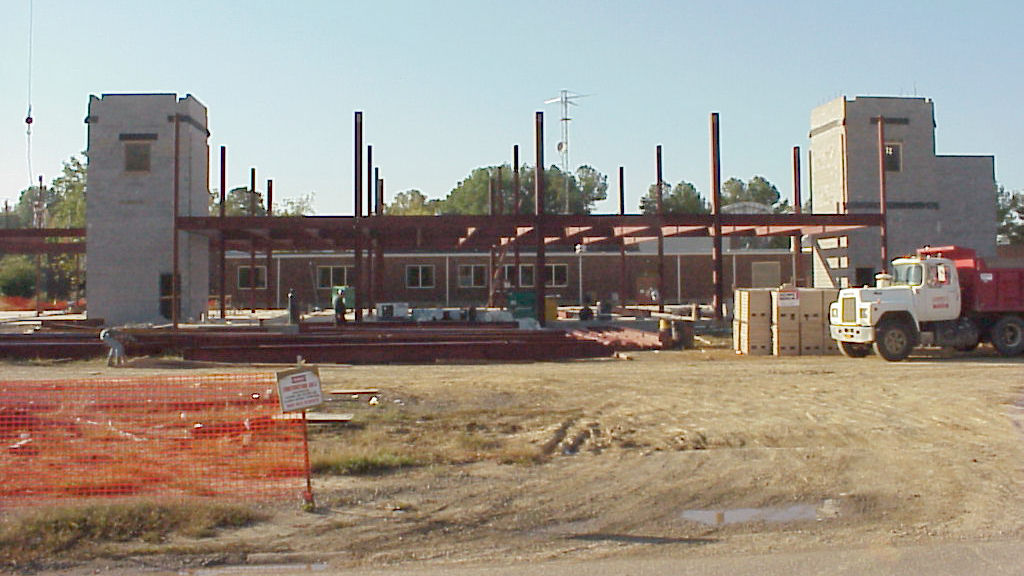 Construction on new building