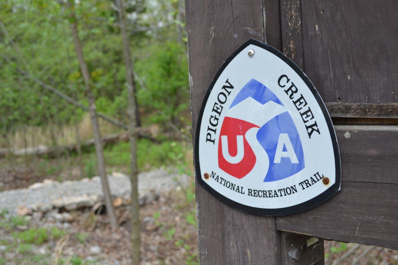 Exploring Arkansas Pigeon Creek National Recreation Trail