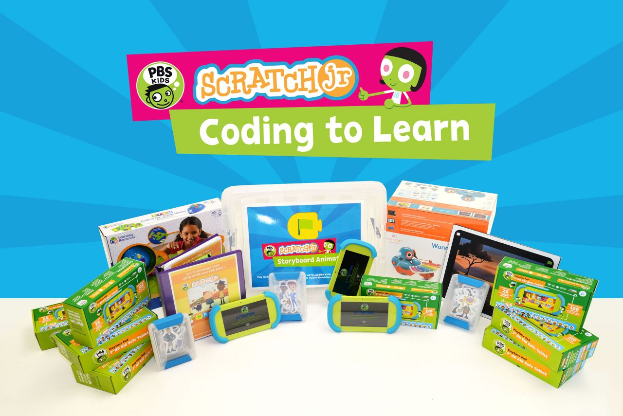 AETN PBS KIDS ScratchJr STEM Kit Contents