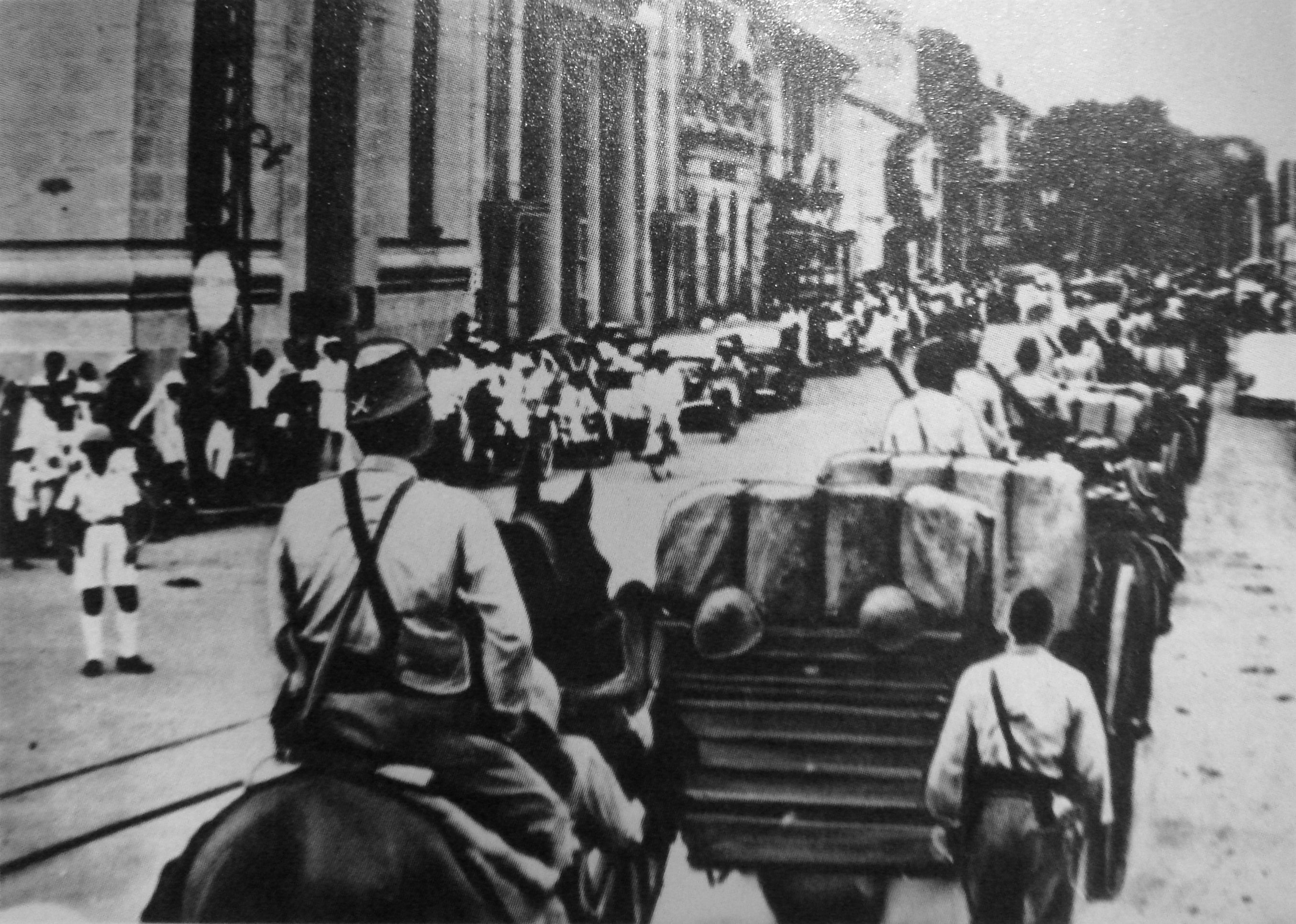 The Demystified Zone Japanese Troops Arrive in Saigon