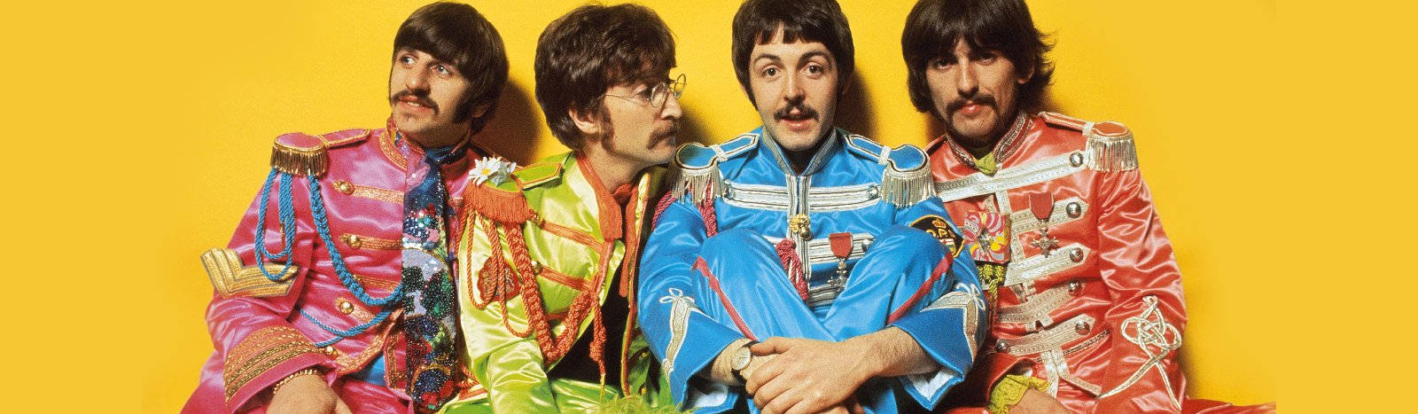 The Beatles from Sgt. Pepper
