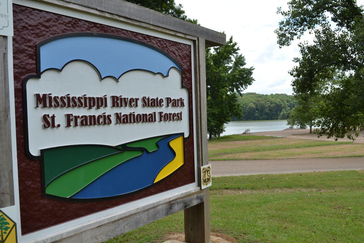 Exploring Arkansas Storm Creek Lake Mississippi River State Park