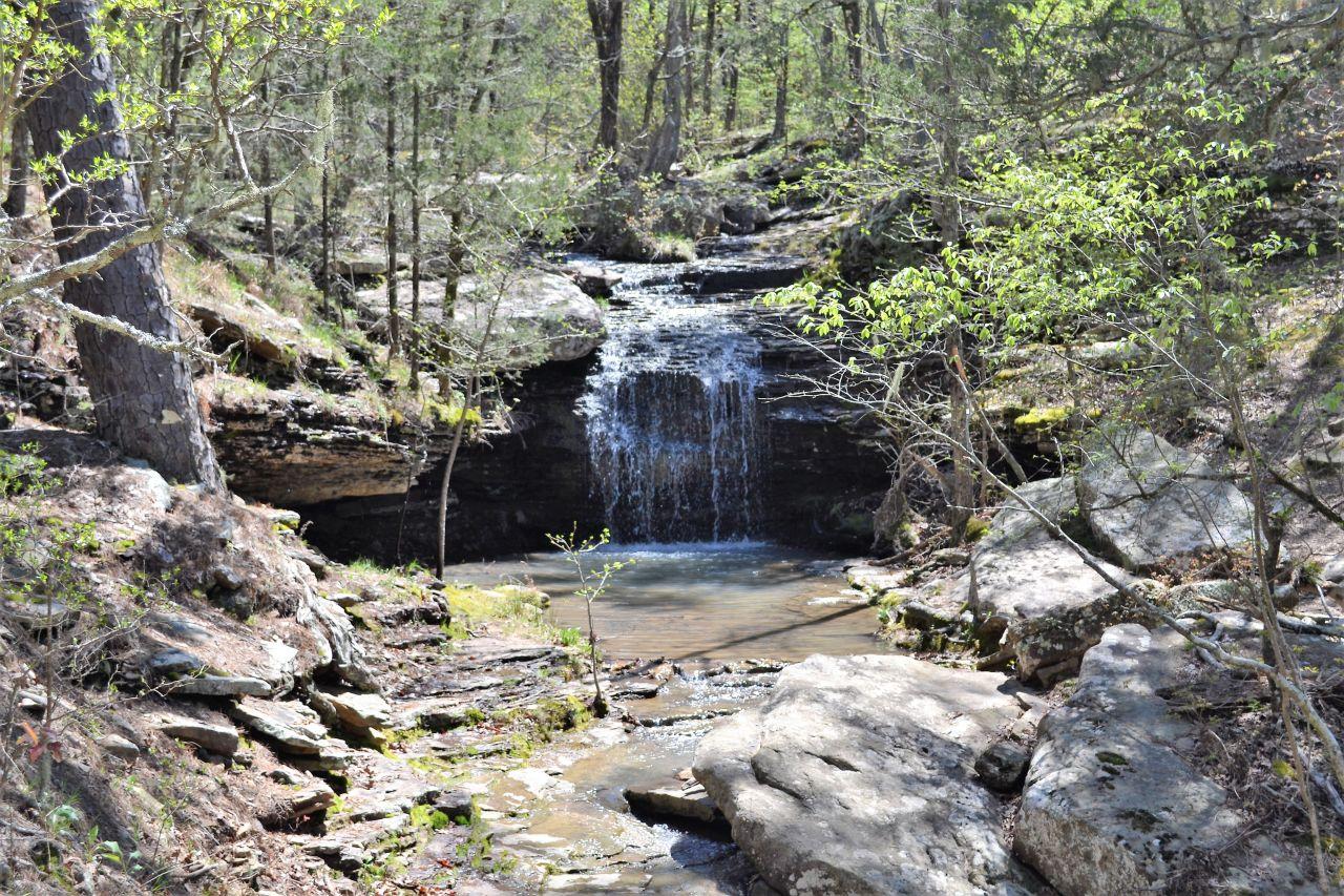 Exploring Arkansas Fairfield Bay Falls