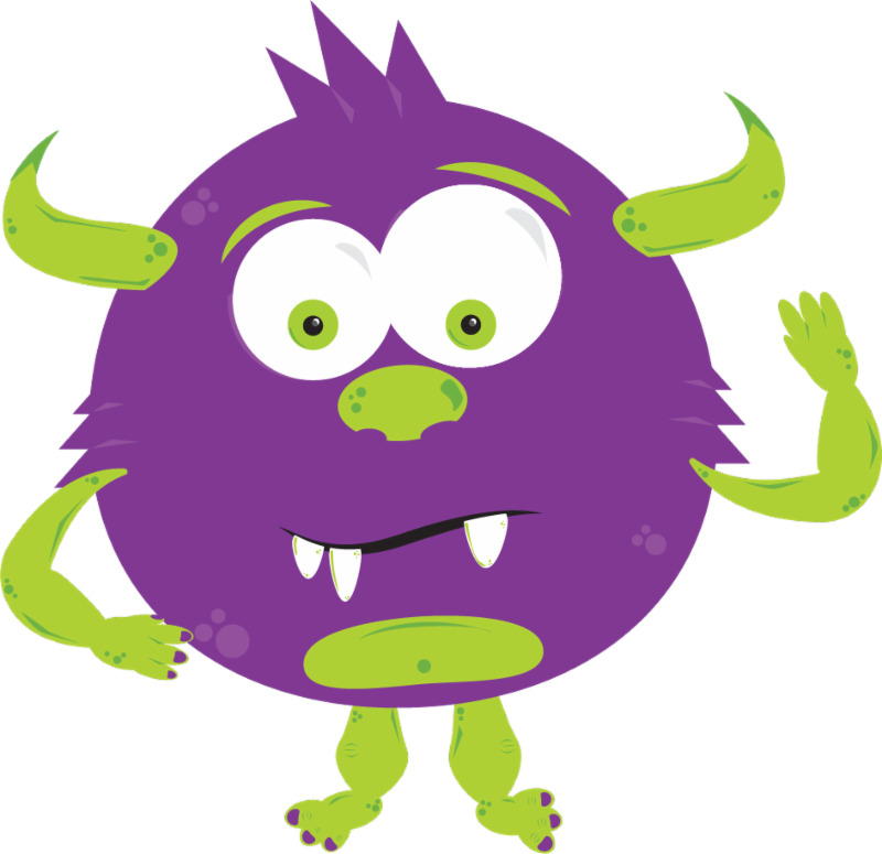 Gobbledy Book Monster