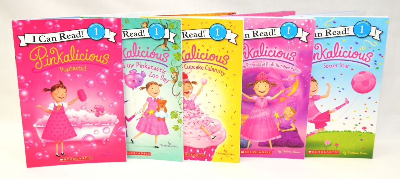 Pinkalicious Books Included in Giveaway