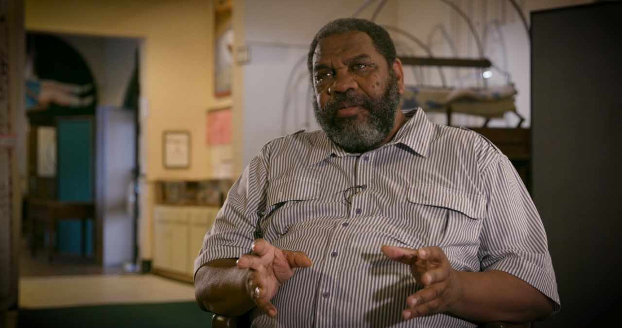 "John Miller, volunteer docent for the Jefferson County Historic Museum""><figcaption class="