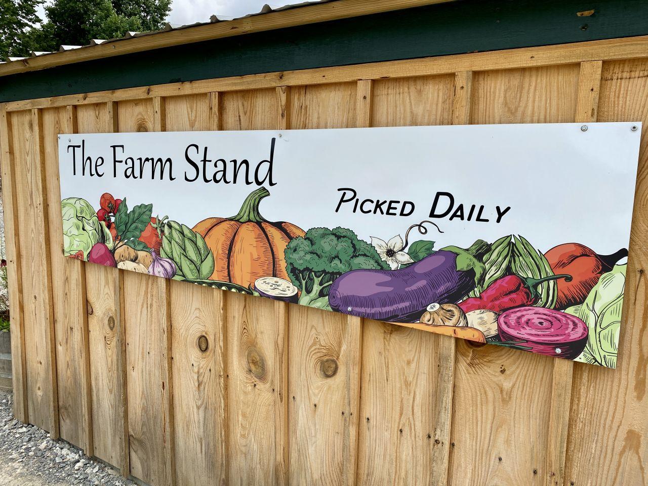 Urbana Farmstead Sign