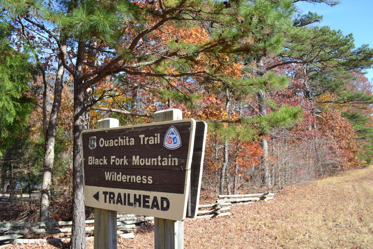 Exploring Arkansas Black Fork Mountain Trailhead