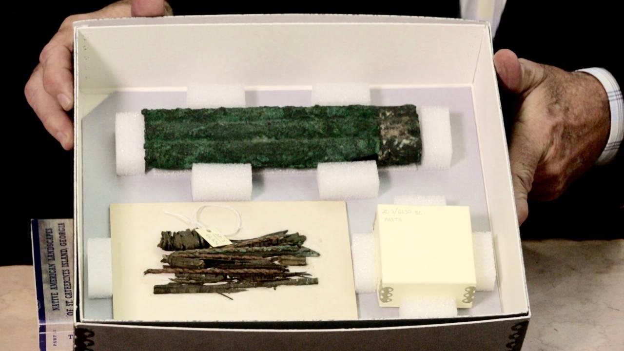 Helena Panpipe Box (200 B.C.)