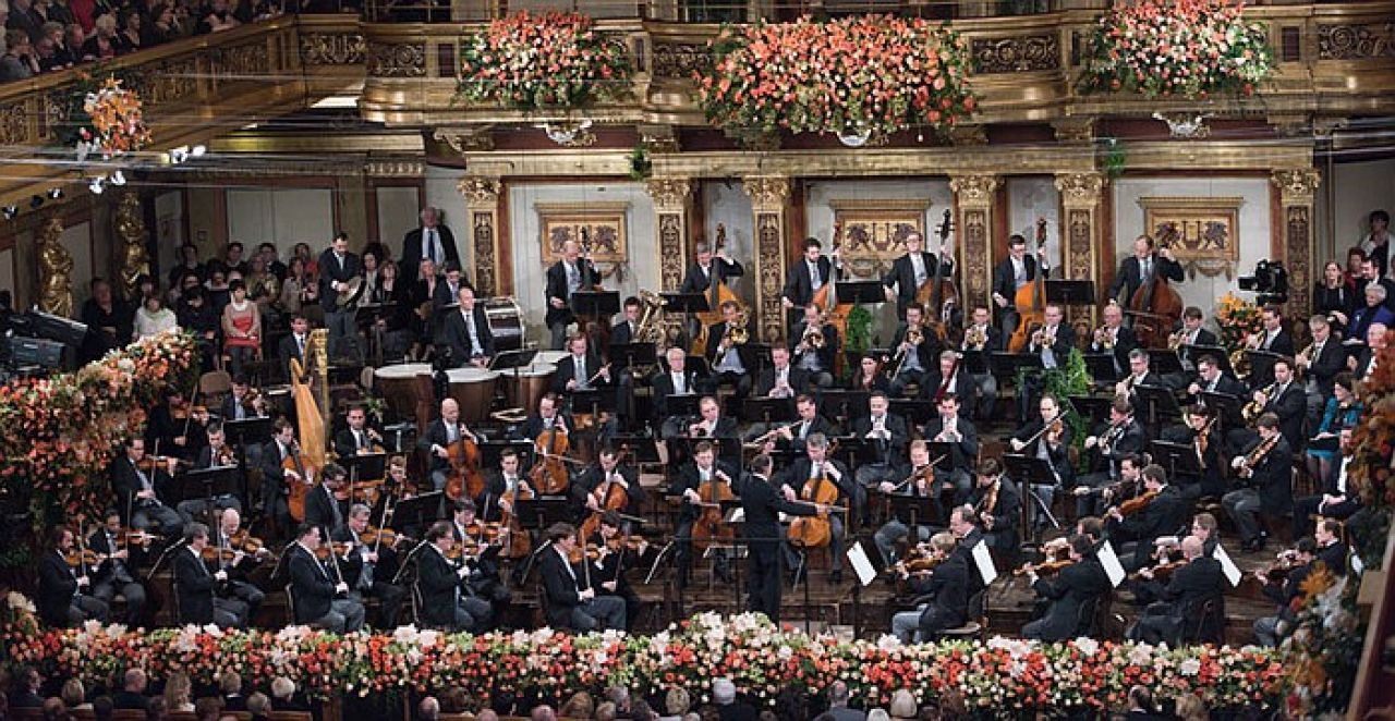 From Vienna The New Year's Celebration 2018