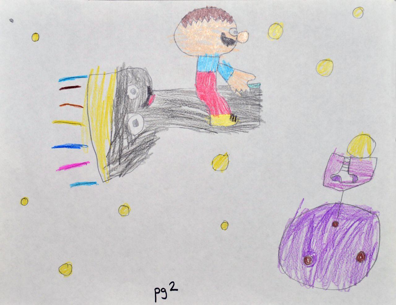 AETN PBS KIDS Writers Contest Winner The Magic Flashlight