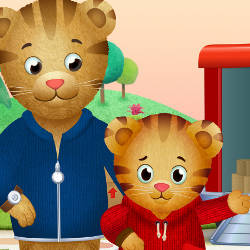 Daniel Tiger and Father