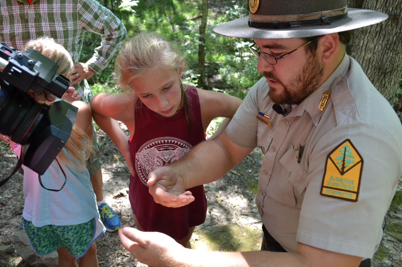 Exploring Arkansas DeGray Lake State Park Edible Insect Presentation