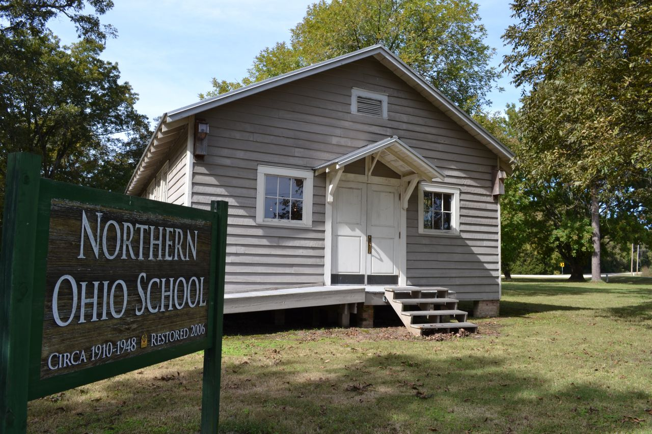 Exploring Arkansas Northern Ohio Cooperage and Lumber Company School House