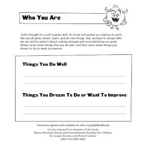 Activity Sheet Graphic