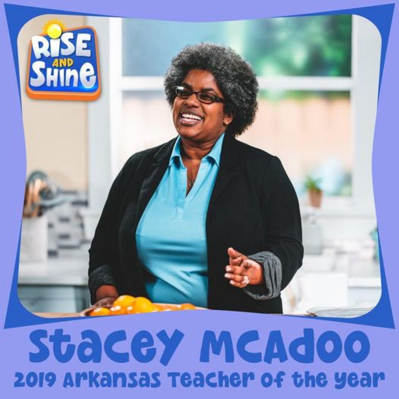 2019 Arkansas Teacher of the Year Stacey McAdoo