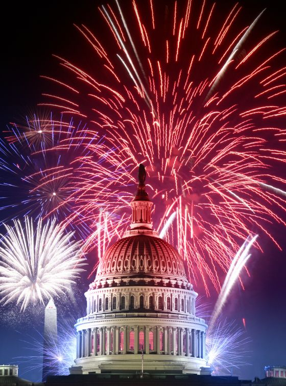 """A Capitol Fourth"" Fireworks Display"