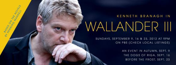 Kenneth Branagh as Wallander III graphic