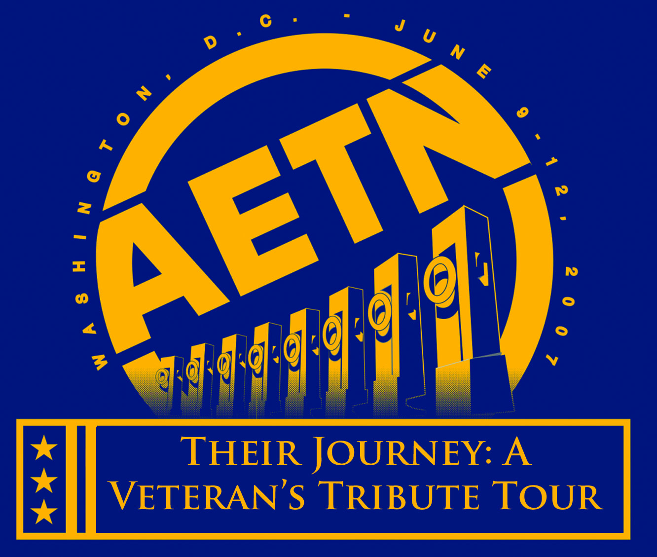 """""""In Their Words – Their Journey: A Veteran's Tribute Tour"""""""