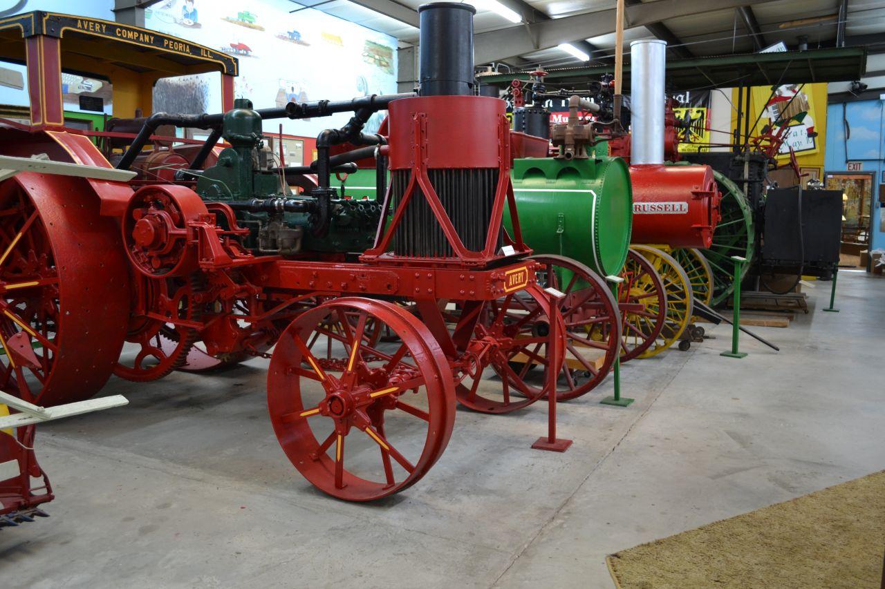 Exploring Arkansas Museum of the Arkansas Grand Prairie Tractors