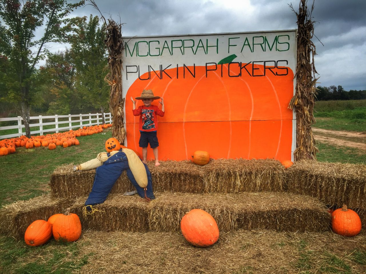 Cook With Brooks Pumpkin Patch Photo Booth