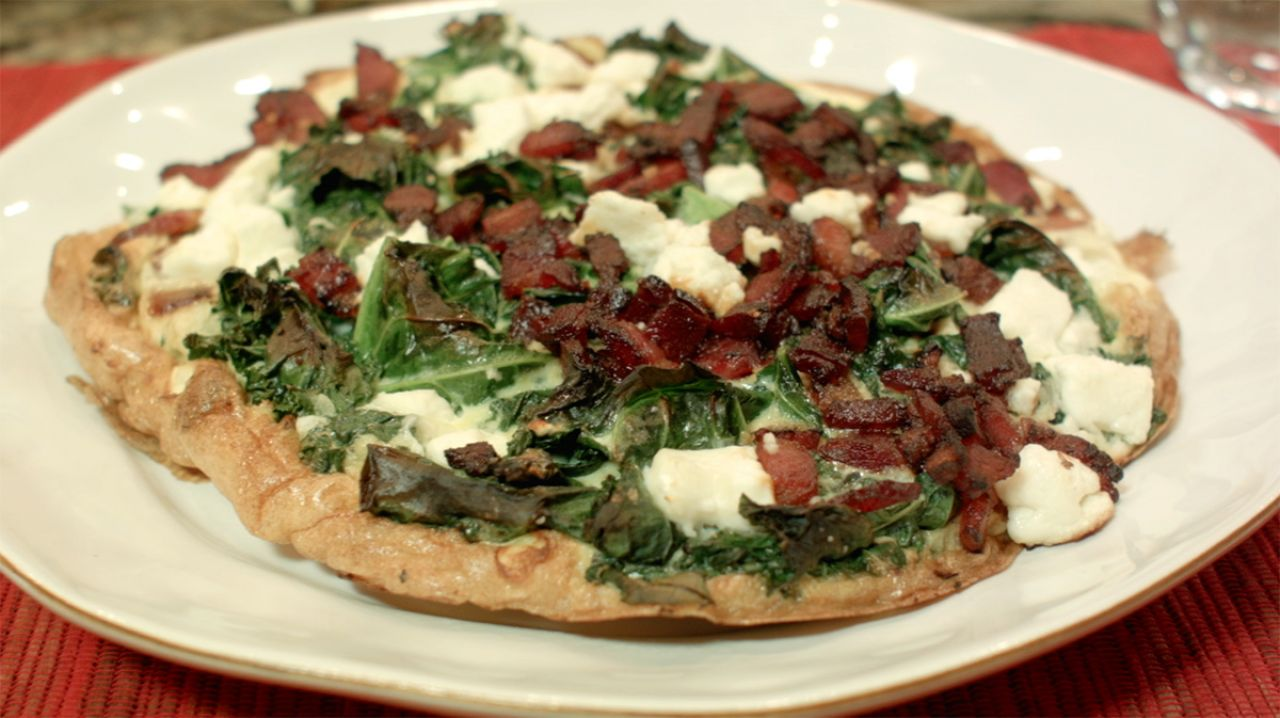Cook With Brooks Kale Frittata