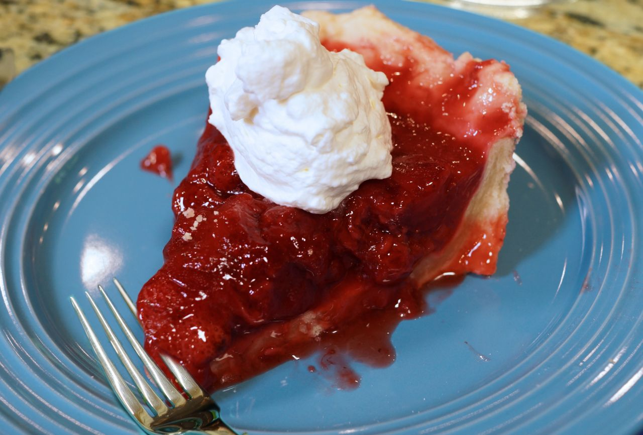 "Cook With Brooks Strawberry Pie Slice"" /><figcaption class="