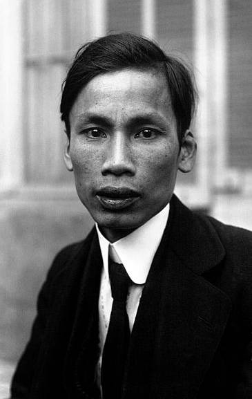 A Young Ho Chi Minh in 1921