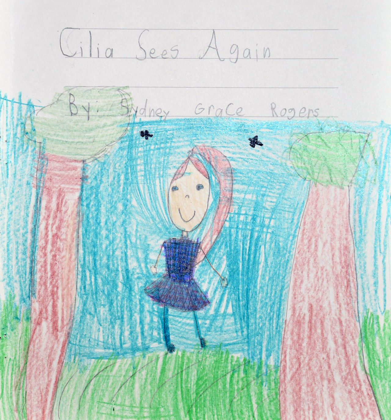 AETN PBS KIDS Writers Contest First Grade 2nd Cilia Sees Again