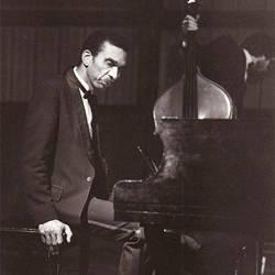 Art Porter sitting at piano