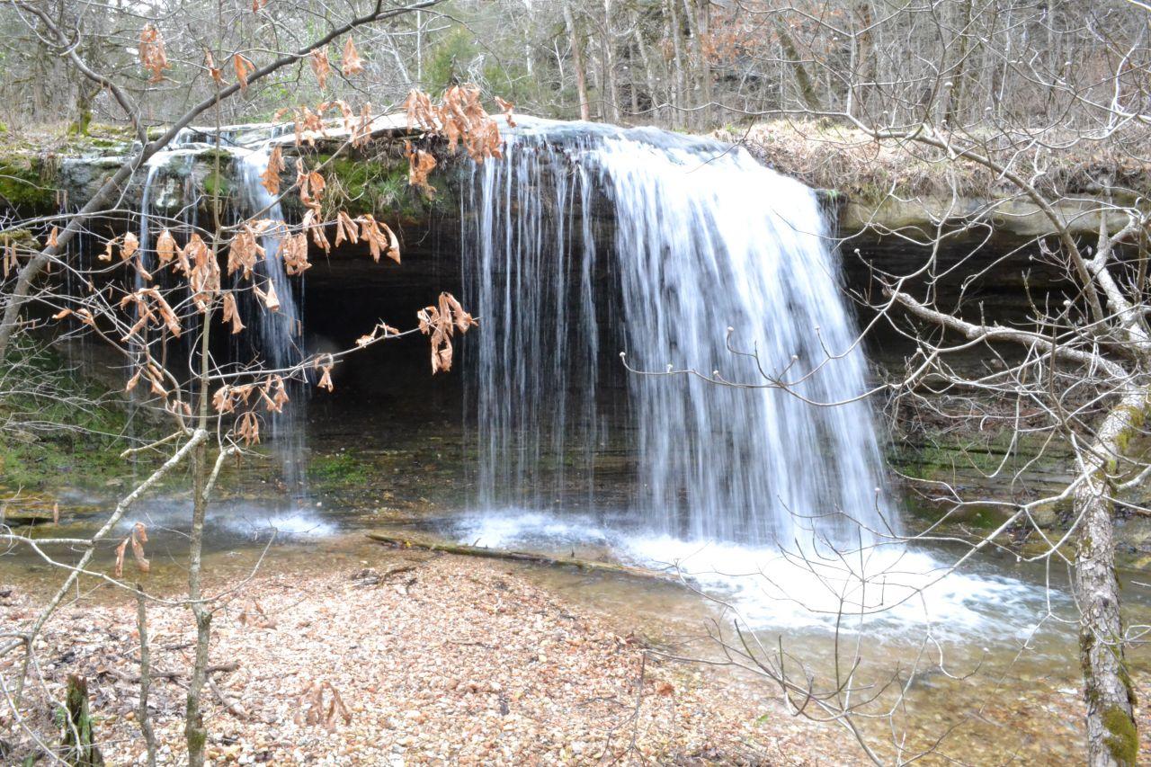 Exploring Arkansas Glory Be Falls