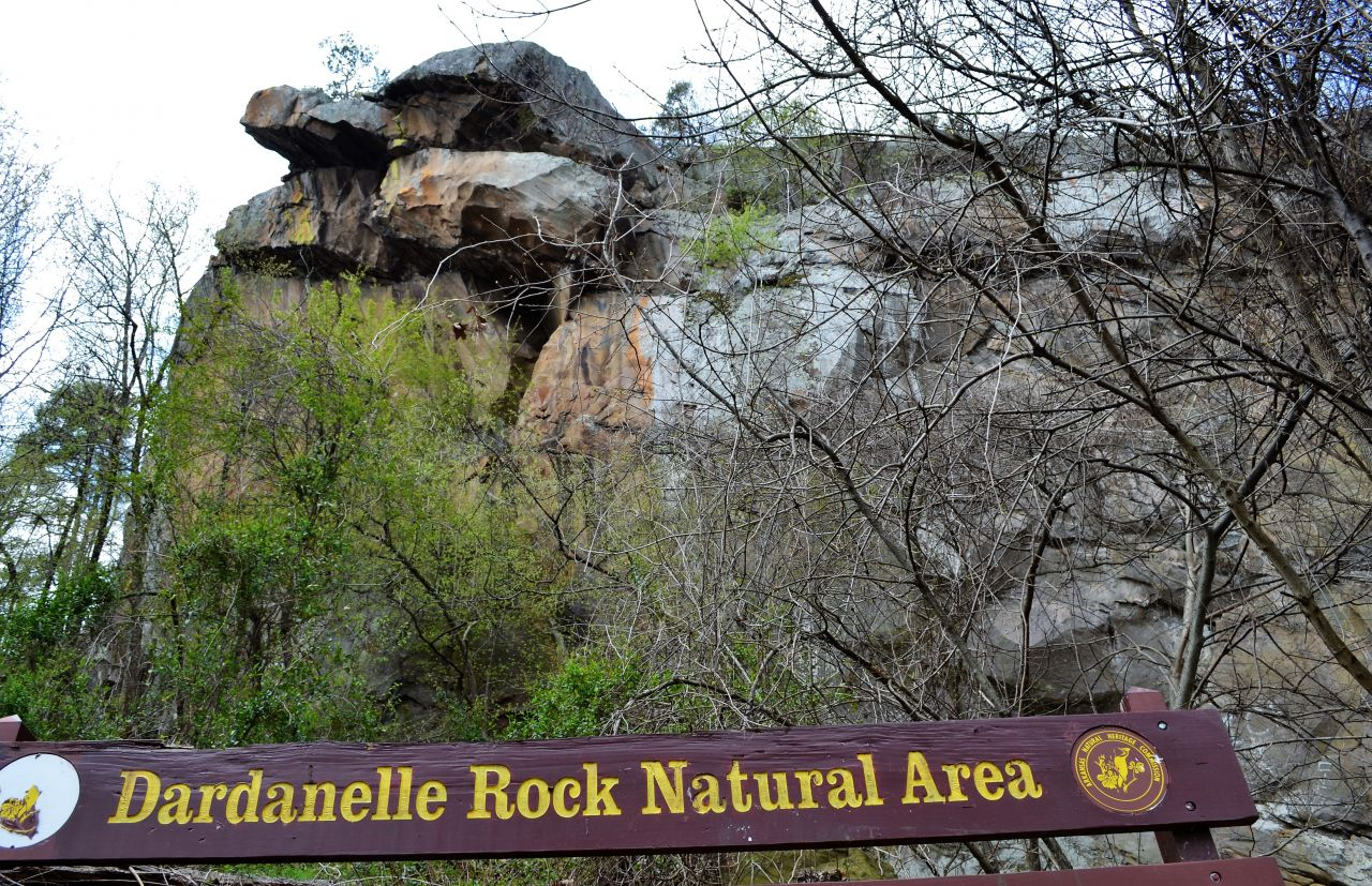 Exploring Arkansas Dardanelle Rock Natural Area