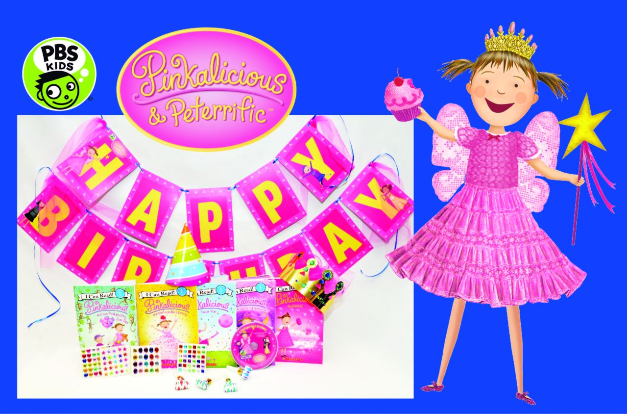 Pinkalicious Birthday-In-A-Box Kit