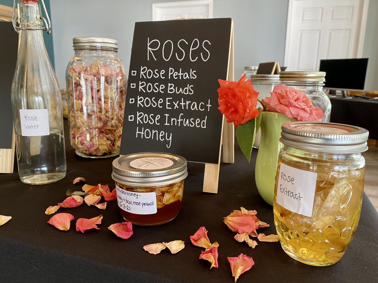 Urbana Farmstead Rose Concoctions
