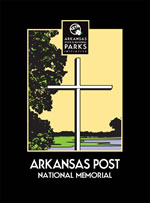 Graphic Artwork of Arkansas Post