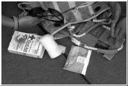 Image of random stuff from purse