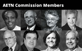 Collage Photo of Commission Members