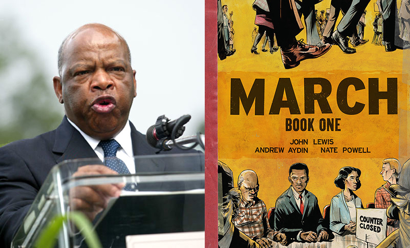 """Barnes And ... A Conversation With John Lewis"" discusses ""March: Book One"" and Lewis' momentous life."