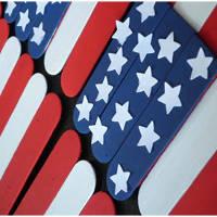 Popsicle American Flag
