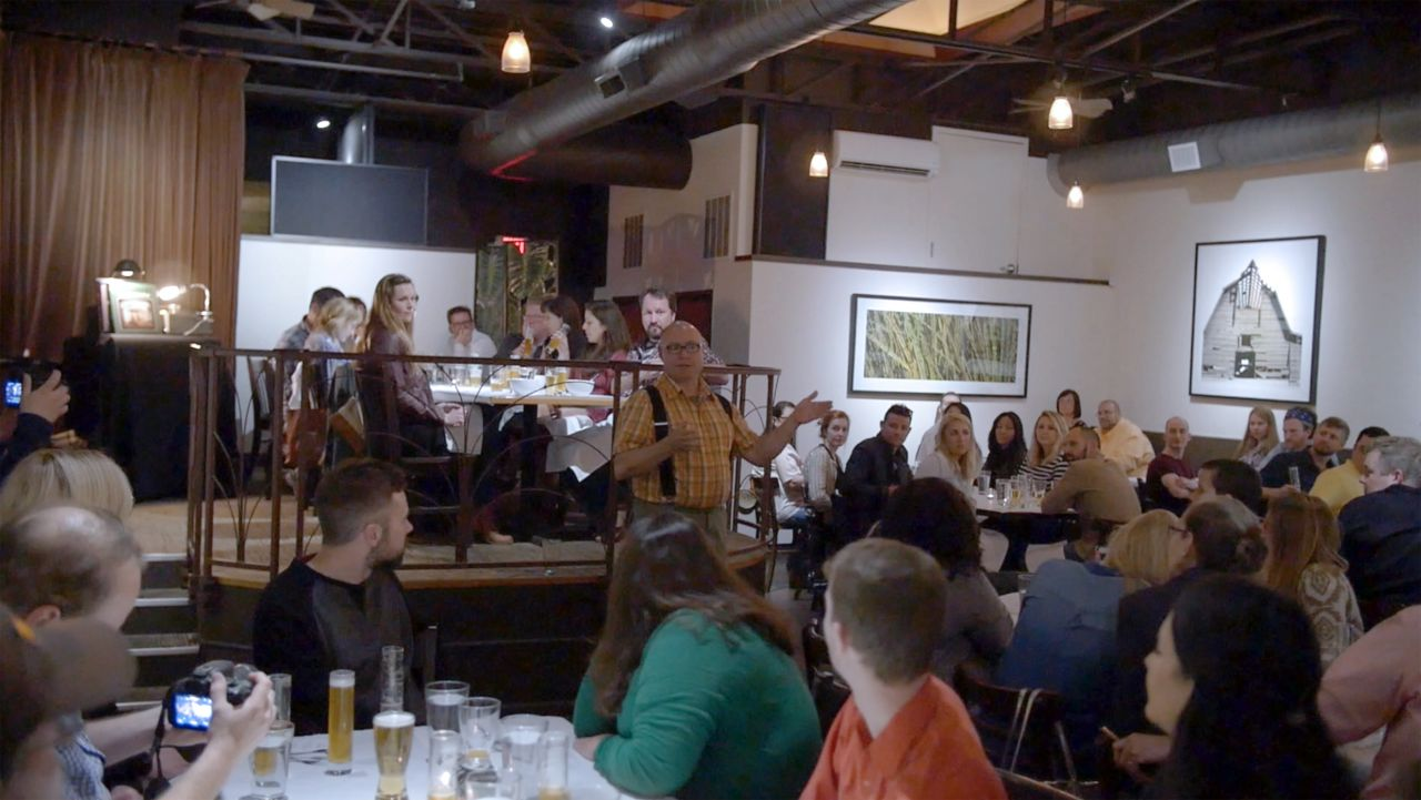 Ozark Beer Dinner Crowd at Greenhouse Grille
