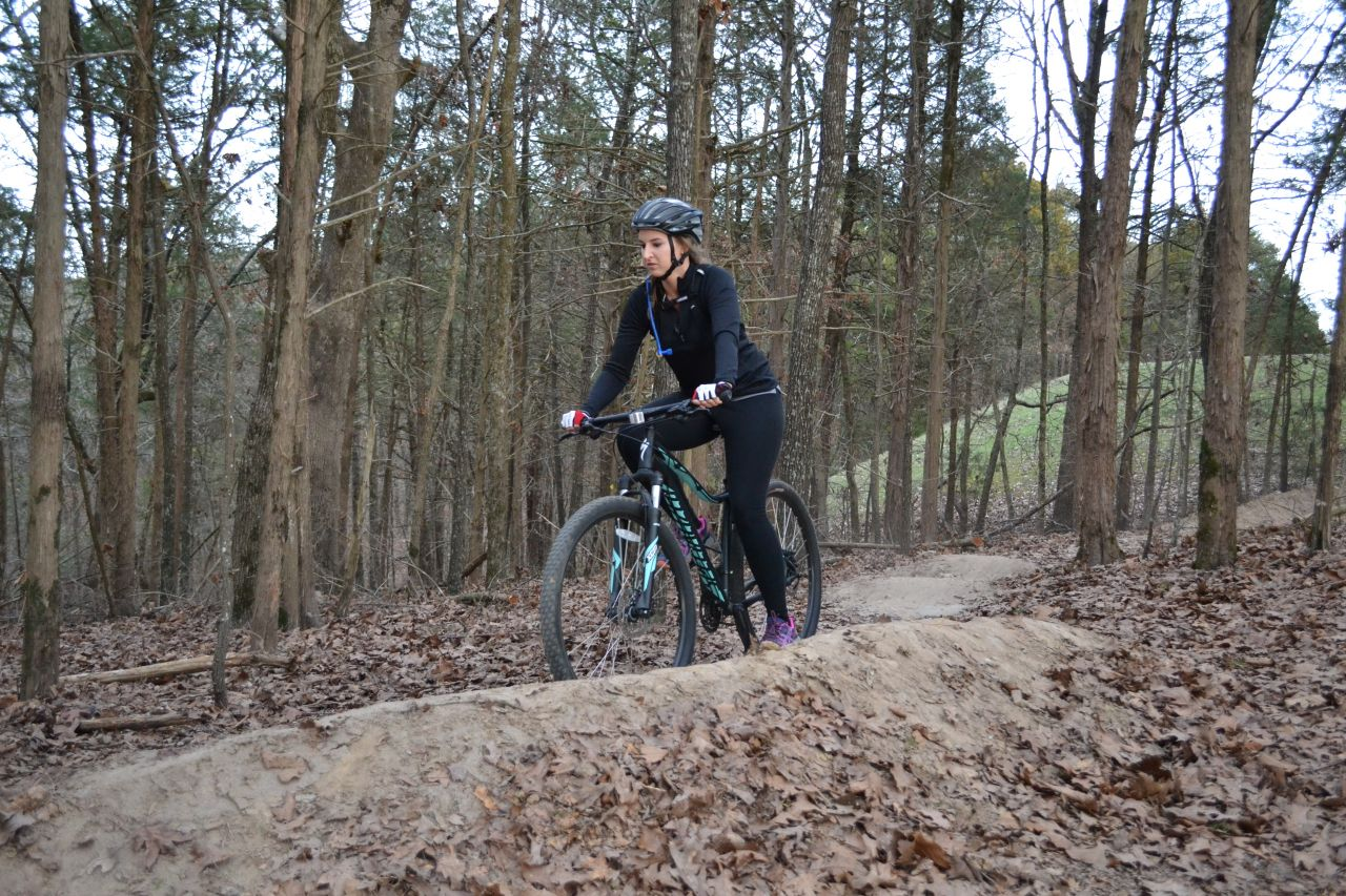 Exploring Arkansas Cadron Settlement Park Mountain Bike Trail