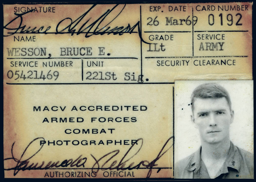 Bruce Wesson MACV ID Card