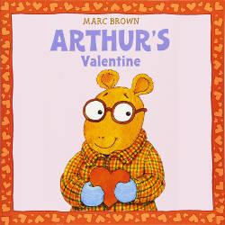 Arthur's Valentine book cover