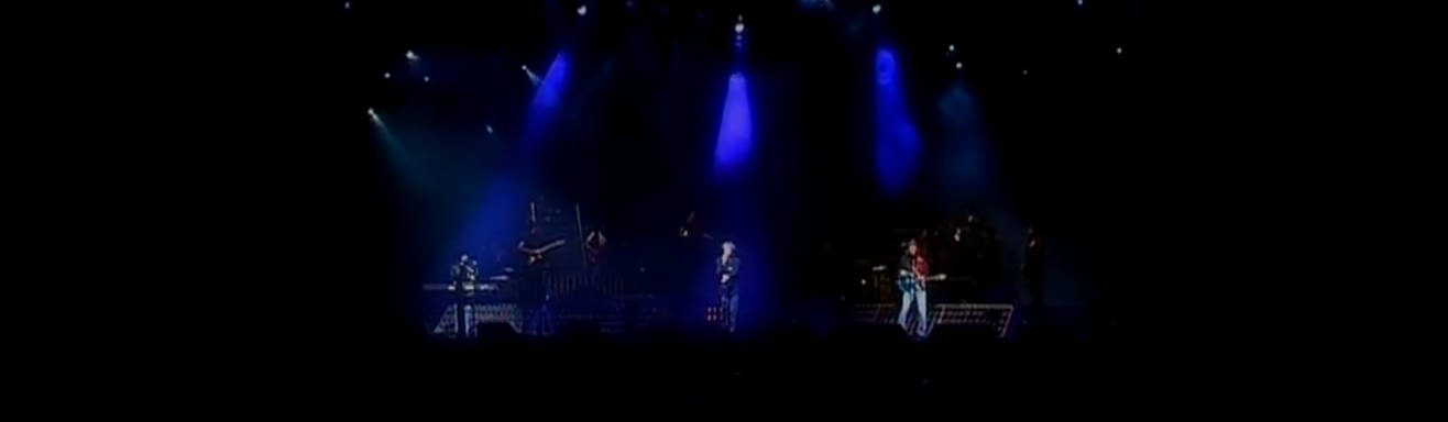 Bee Gees performing on stage