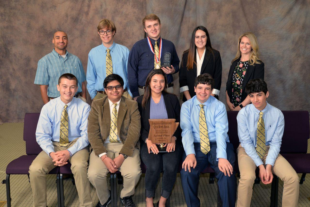 Pulaski Academy 5A Quiz Bowl Runner-up 2018