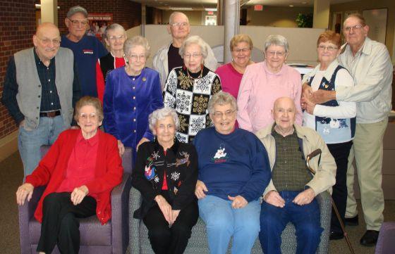 Arkansas PBS Foundaion Golden Guys and Gals at the annual Volunteer Potluck