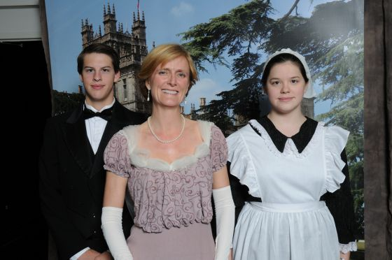 "A ""Downton Abbey"" Family, Upstairs and Down"