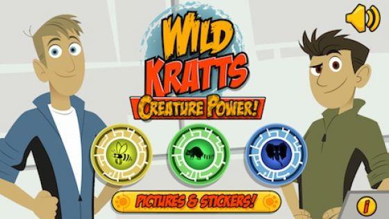 Wild Kratts Creature Power App