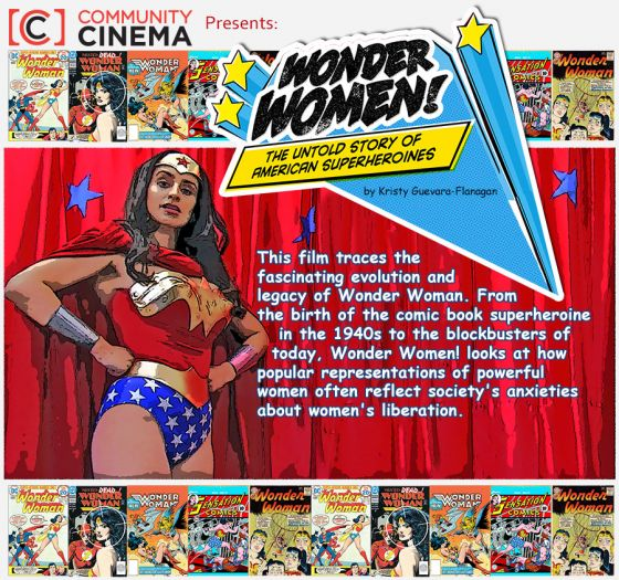 """Wonder Women! The Untold Story of American Superheroines"""